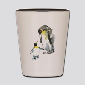 Parent-child Penguin Shot Glass